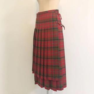コムデギャルソン(COMME des GARCONS)の美品レア コムデギャルソン 90s 巻きスカート(ロングスカート)