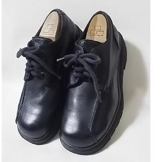 ドクターマーチン(Dr.Martens)の 希少イングランド製!ドクターマーチン高級厚底シューズ人気黒ビンテージ!   (ローファー/革靴)