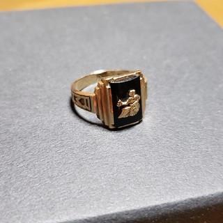 アンティークカレッジリング(リング(指輪))