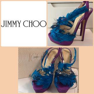 JIMMY CHOO - 定価21万 ジミーチュウ バイオレットマーレーン