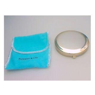 ティファニー(Tiffany & Co.)のティファニー 携帯 コンパクトミラー 純銀無垢 925 最高級 シルバー(ミラー)