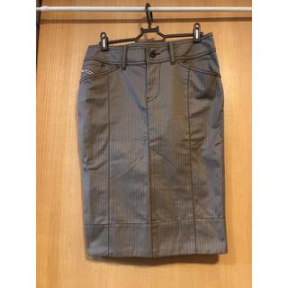 ディーゼル(DIESEL)のDIESEL タイトスカート ペンシルスカート 25インチ(ひざ丈スカート)