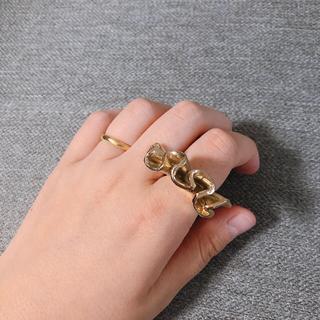フラワー(flower)の古着屋 リング イヤリング セット(リング(指輪))