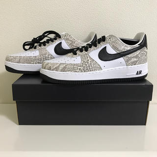 NIKE - NIKE AIR FORCE 1 Cocoa Snake ココアスネーク 白蛇