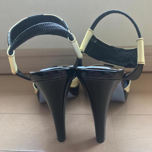 kariang(カリアング)の試着のみ ドレアング ドット柄サンダル レディースの靴/シューズ(ハイヒール/パンプス)の商品写真