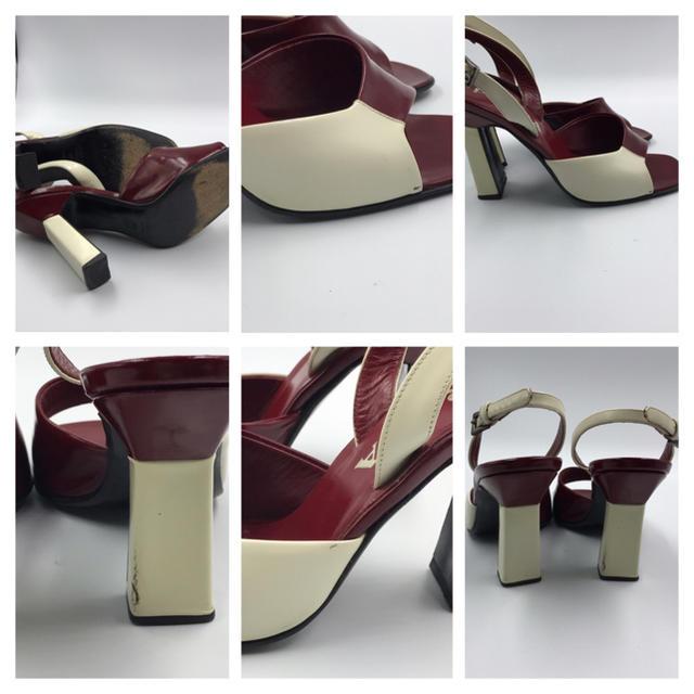PRADA(プラダ)の正規品★プラダのサンダル37 1/2 約24cm〜24.5cm レディースの靴/シューズ(サンダル)の商品写真
