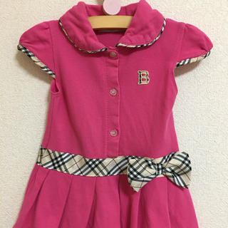 BURBERRY - BURBERRY✩.*˚キッズM   pink