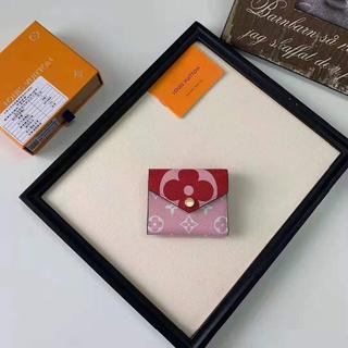 LOUIS VUITTON - ルイヴィトン 三つ財布 Louis Vuitton 財布 ピンク