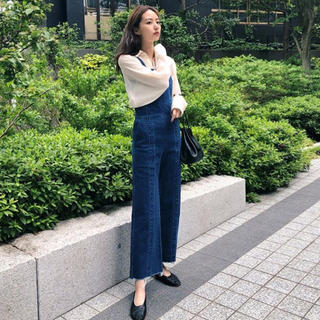 moussy - MOUSSY  FIT DENIM ジャンプスーツ