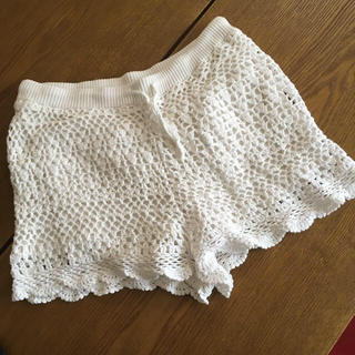 Maison de Reefur - メゾンドリーファー かぎ編み ショートパンツ