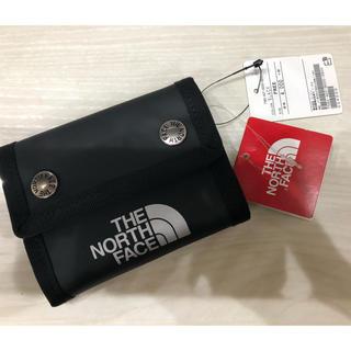 ザノースフェイス(THE NORTH FACE)の新品 黒 ノースフェイス ドットウォレット ミニウォレット 財布 NM81820(財布)