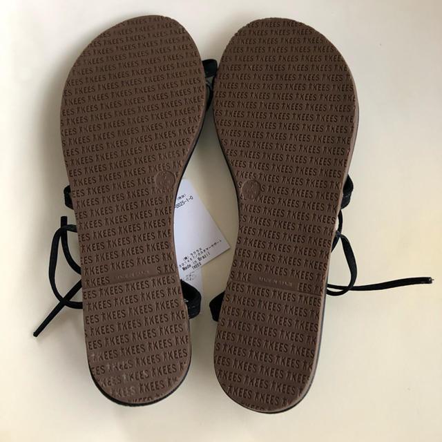 DEUXIEME CLASSE(ドゥーズィエムクラス)の未使用 AP STUDIO TKEES レースアップトングサンダル 38  レディースの靴/シューズ(サンダル)の商品写真