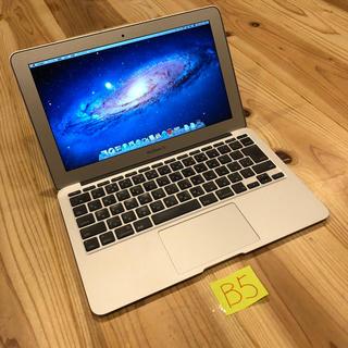 マック(Mac (Apple))のi7 SSD256GB! MacBook air 11インチ mid2011(ノートPC)