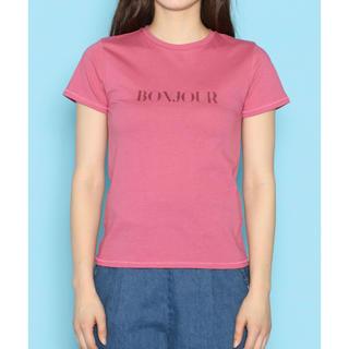 デイシー(deicy)のDEICY♡ BONJOURTシャツ(Tシャツ(半袖/袖なし))
