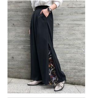 PAGEBOY - 裾レイヤードパンツ