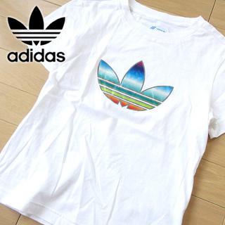 adidas - 美品 M アディダスオリジナルス レディース トレフォイルTシャツ