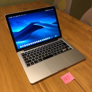 マック(Mac (Apple))のMacBook pro retina 13インチ Late2012 カスタム(ノートPC)