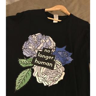 コムデギャルソン(COMME des GARCONS)の太宰治 人間失格 Tシャツ ブラック(Tシャツ/カットソー(半袖/袖なし))