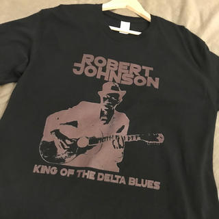 コムデギャルソン(COMME des GARCONS)のRobert Johnson バンドTシャツ ブラック(Tシャツ/カットソー(半袖/袖なし))