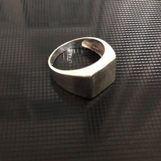 シルバー925 印台リング(リング(指輪))