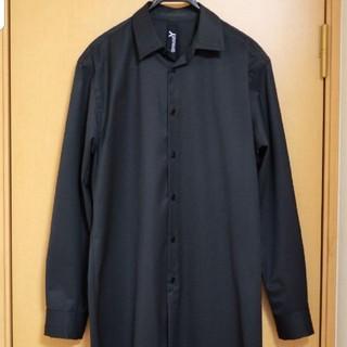 ヨウジヤマモト(Yohji Yamamoto)のground Y GD-B07-100 ロングシャツ(Tシャツ/カットソー(七分/長袖))