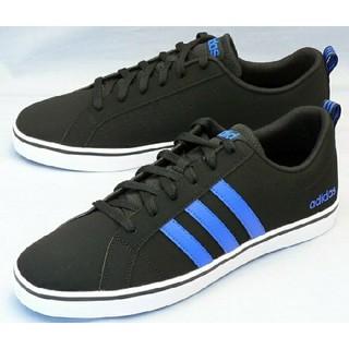 adidas - 27.5cm ブラック ブルー adidas アディダス スニーカー