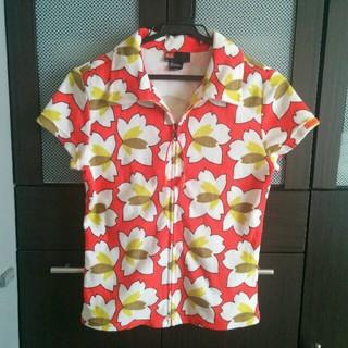 DIESEL - ♥ディーゼル夏らしいオレンジ色気持ち良い肌触りで柄も可愛い半袖パーカー♥Tシャツ