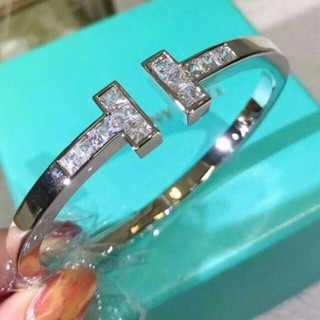 Tiffany & Co. - Tiffany Tスクエア バングル