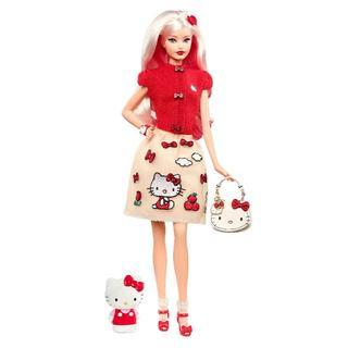 Barbie - barbie  バービー Hello Kitty ハローキティ Doll