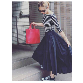 GU - 美品♡GU イエローフィッシュテールスカート