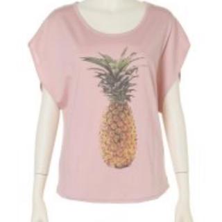 デイシー(deicy)のdeicy♡パイナップルTシャツ(Tシャツ(半袖/袖なし))