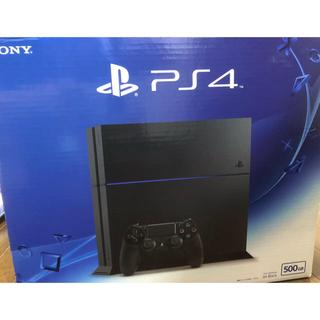 PlayStation4 - PlayStation®️4 ジェットブラック500GB CUH-1200A