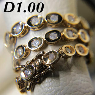 JEWELRY TSUTSUMI - k10 ダイヤモンド テニスブレスレット