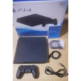 PlayStation4 - PS4 本体 500GB ブラック (CUH2000AB01)