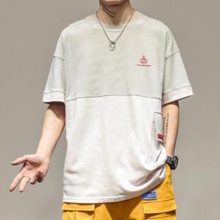 メンズシャツ ファッション 韓国風 半袖 夏服