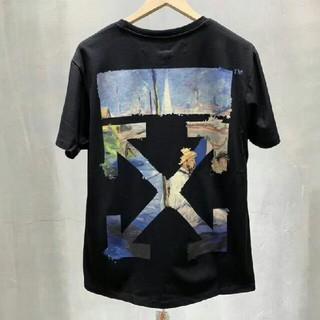OFF-WHITE - OFF WHITE Tシャツ 半袖 メンズ レディースM