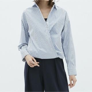 【新品】カシュクール2way オーバーサイズシャツ(シャツ/ブラウス(長袖/七分))