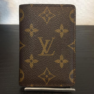 LOUIS VUITTON - LOUIS VUITTON ルイヴィトン モノグラム カードケース