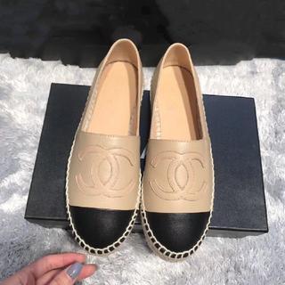 CHANEL - CHANEL エスパ 靴 23.5cm