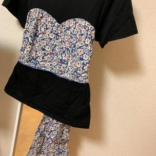 スライ(SLY)のSLY 花柄Tシャツ(Tシャツ(半袖/袖なし))