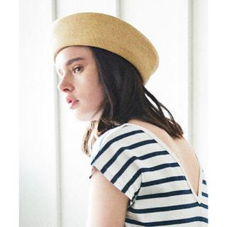 ビューティアンドユースユナイテッドアローズ(BEAUTY&YOUTH UNITED ARROWS)のB&Y ペーパーブレードベレー帽(ハンチング/ベレー帽)
