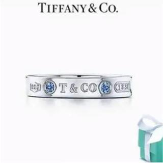 ティファニー(Tiffany & Co.)のティファニー ナローリング サファイヤ(リング(指輪))