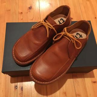 トリッペン(trippen)のトリッペン 紐履 茶色 36(ローファー/革靴)
