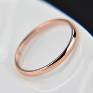 00110 【レディース指輪】ローズゴールド(リング(指輪))