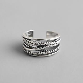 トゥデイフル(TODAYFUL)の#30   silver925  ヴィンテージデザイン リング(リング(指輪))