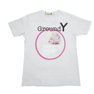 ヨウジヤマモト(Yohji Yamamoto)の新作 新品 ヨウジヤマモト グラウンドY マリリンモンロー(Tシャツ/カットソー(半袖/袖なし))