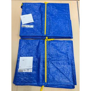 IKEA - 【2枚セット】FRAKTA トロリー用バッグ, ブルー, 76 ℓ