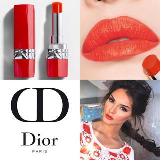 ディオール(Dior)の【新品箱なし】日本未発売✦ルージュディオールウルトラ 545 ウルトラマッド(口紅)