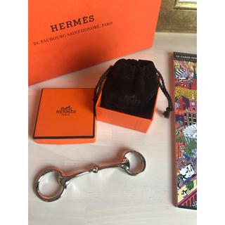 エルメス(Hermes)のダイヤとチョコ様ご専用✨新品 HERMES 🍊Mors 2 スカーフリング (バンダナ/スカーフ)