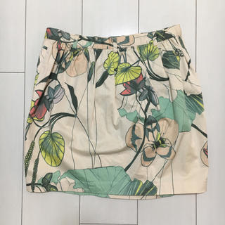H&M - ◎botanical wrap skirt